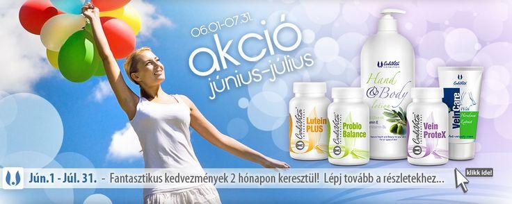 Júliusi akciók: két termék rendelése esetén -10%, vagy ajándék testápoló