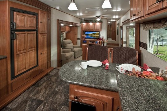 My Dream Camper Interior Big Country Luxury Fifth Wheel