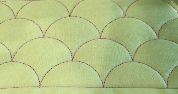how to make clamshell quilt pattern