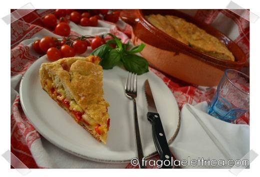 RUSTICO DI PEPERONI E EMMENTAL fragolaelettrica.com Le ricette di Ennio Zaccariello #Ricetta