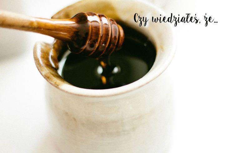 Czy wiedziałeś, że...miód dezynfekuje rany? www.fitlinefood.com