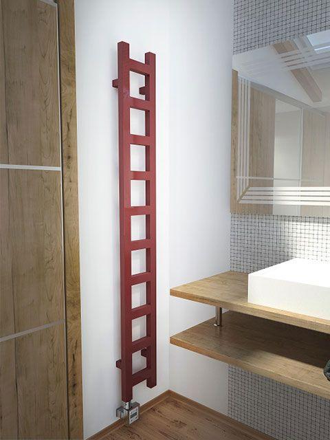 narrow heated towel rails, narrow towel radiators, narrow electric towel rails,