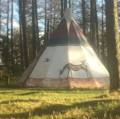 Marthrown of Mabie Mabie Forest, Dumfries, Dumfries & Galloway, UK, Scotland. Camping. Campsite. Glamping. Travel. Holiday. Tipis. Yurts. Wedding Venue.