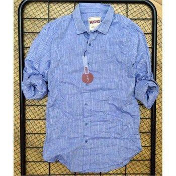 Erkek mavi spor gömlek modellerini en ucuz fiyatlarıyla kapıda ödeme ve taksit ile Outlet Çarşım'dan satın al.