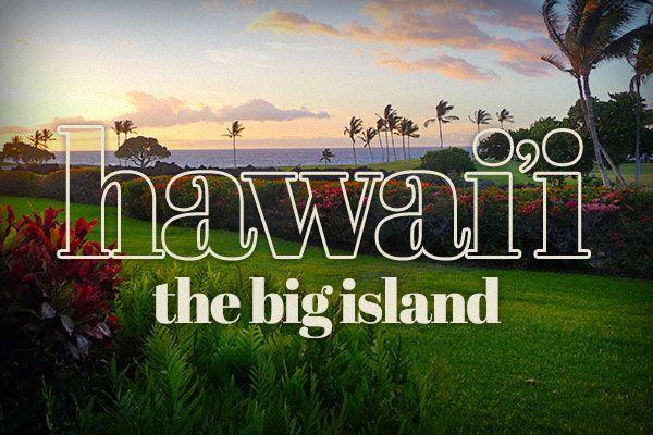 Hawaii Big Island header