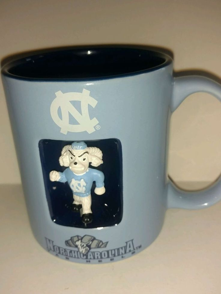 NC North Carolina Tar  Heels Basketball College Coffee Mug