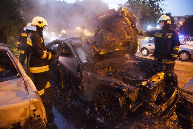 Felgyújtottak egy személyautót Nagykanizsán