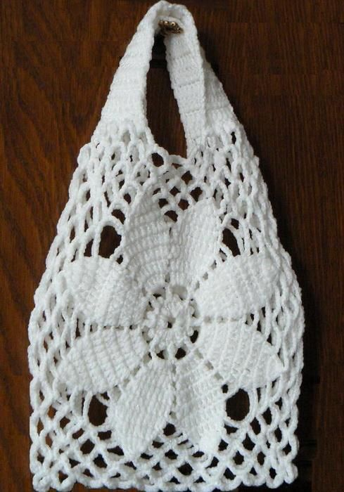 Crochet Bag Free Pattern diagrama