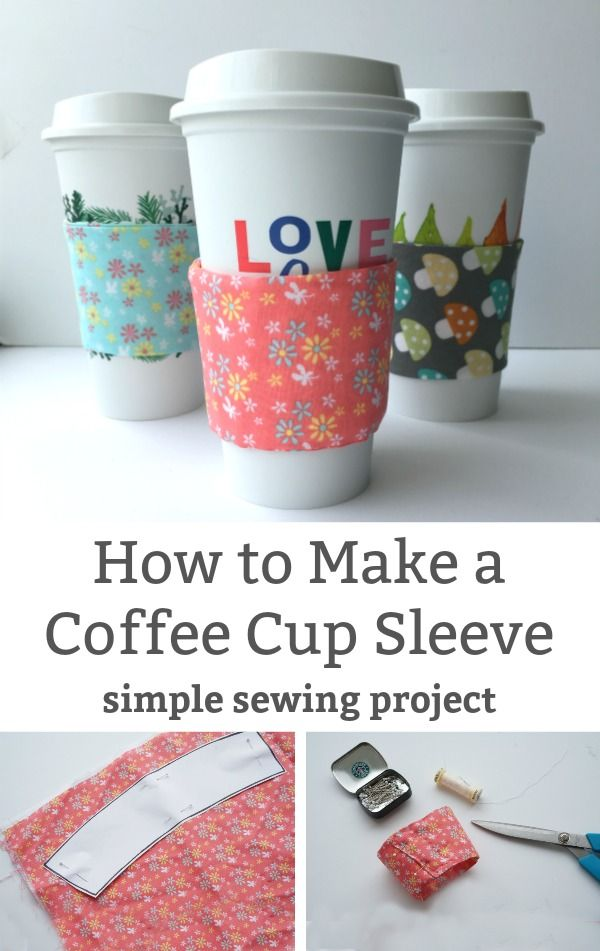 How To Make A Coffee Cup Sleeve