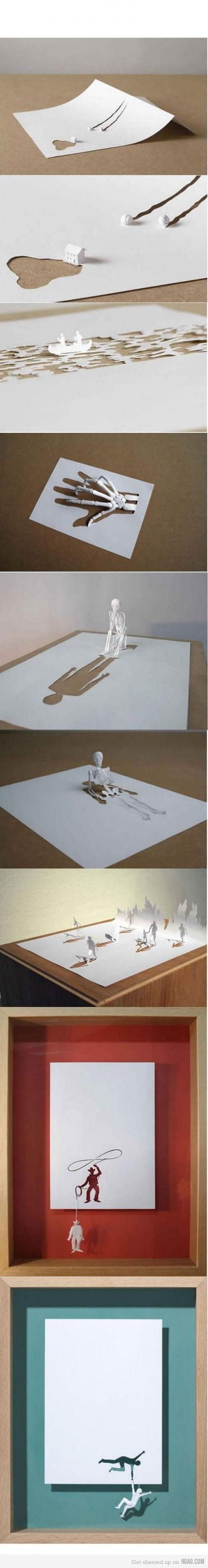 Amazing paper art by Peter Callesen