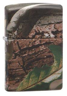 #Encendedor #Zippo #Realtree #Camuflaje impresión completa, con un diseño realista fiel al aspecto de la corteza de un #arbol, con la vegetación propia.