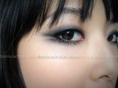Edgy eye for small lids: Kpop Inspiration Brown, Girls Generation, Brown Eye Girls, Abracadabra Monolid, Brown Eyed Girls, Hair Makeup, Asian Eyeliner Monolid, Monolid Makeup, Girls Abracadabra