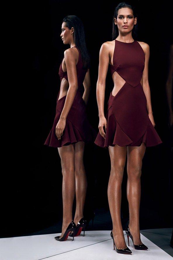 Cushnie Et Ochs fashion collection, pre-autumn/winter 2014