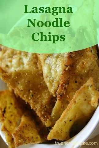 Ever wonder what to do with those broken lasagna chips? Well I have the perfect tasty solution for you. These lasagna chips are relatively healthy and are great with this 5-minute hummus recipe.