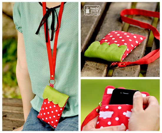 Strawberry cell phone case