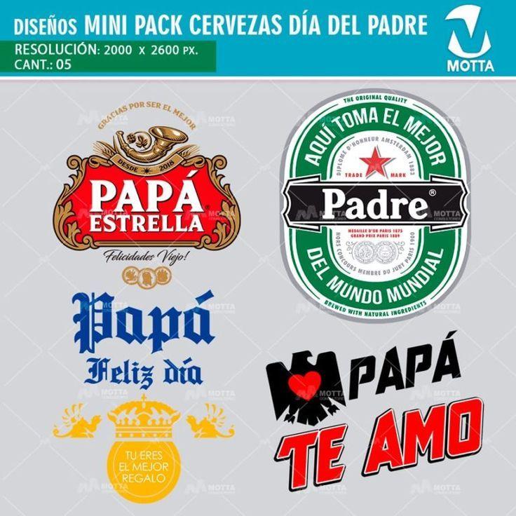 Diseños Para Tazas y Camisetas Cervezas DÍA DEL PADRE #1X5Motta – #1X5Motta #c…