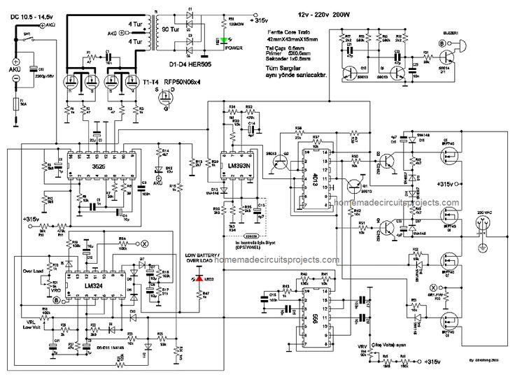 3 Best Transformerless Inverter Circuits