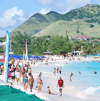 Best Beach Bars St Martin Orient Bay