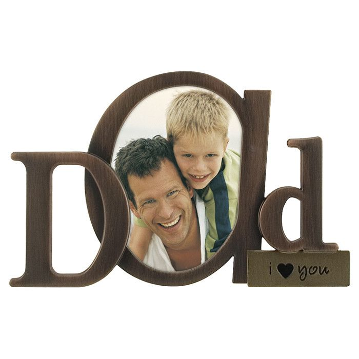 Adorable Dad Picture Frame. http://www.giftamillion.com/dad-picture-frame.html…