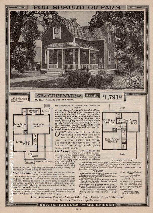 Pin On Sears Modern Homes 1919