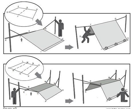 Day 26 Nat Prep Mo Challenge: Shelter! Add a tarp and Rope to your emergency supplies. If possible add a tent too.