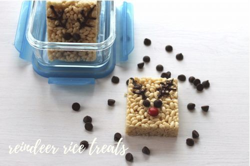 Reindeer Rice Treats - We Love GlassWe Love Glass