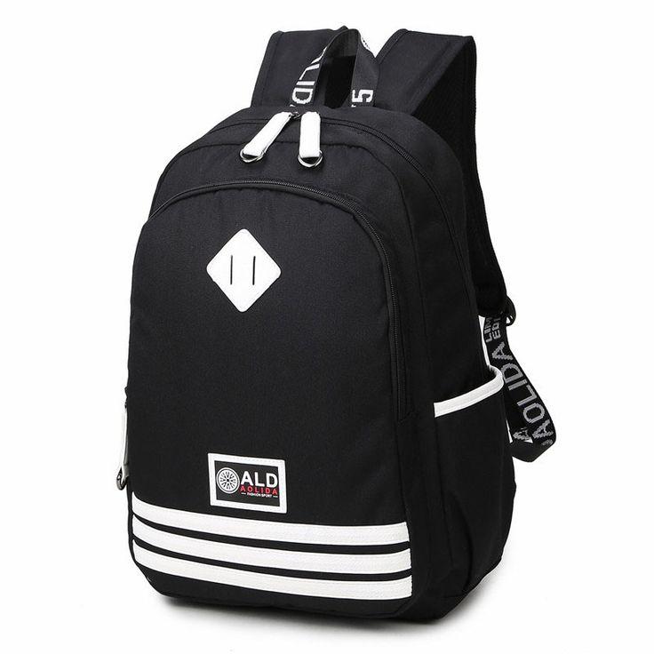 $32.79 (Buy here: https://alitems.com/g/1e8d114494ebda23ff8b16525dc3e8/?i=5&ulp=https%3A%2F%2Fwww.aliexpress.com%2Fitem%2FFeminine-Backpack-Fashion-striped-School-Teenage-Male-Backpacks-for-Teen-Girls-Boys-Children-Youth-Backpack-Sac%2F32739318383.html ) Feminine Backpack Fashion striped School Teenage Male Backpacks for Teen Girls Boys Children Youth Backpack Sac A Dos Femme  for just $32.79