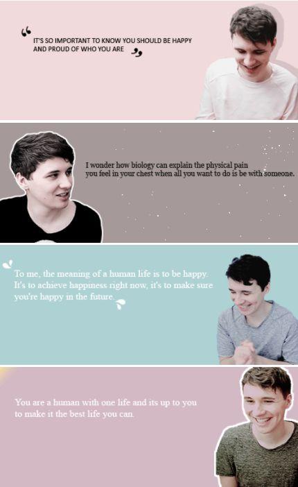 favorite dan howell quotes // phil version | by https://iuminouslester.tumblr.com/