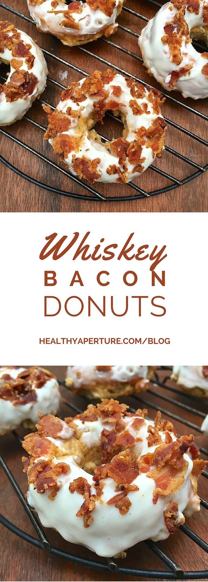 Get in the Irish spirit with whiskey flavored baked donuts, the perfect sweet treat for your party guests.