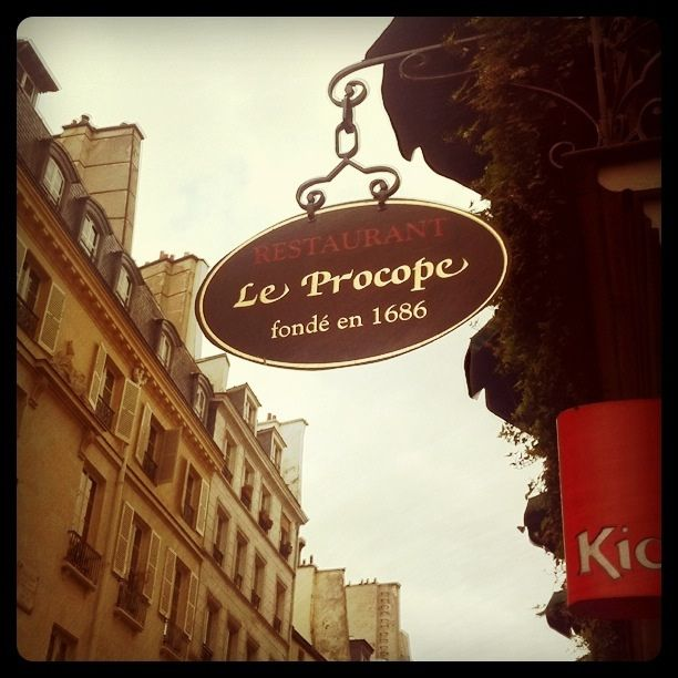 cafe procope | Café Procope | Flickr - Photo Sharing!
