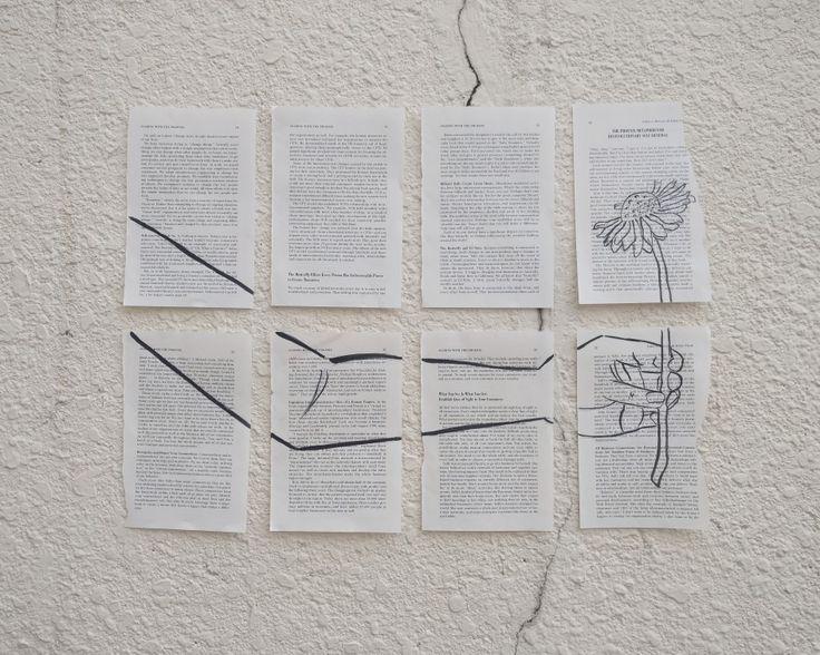 Art on print #print #art #hand #flower #tumblr # simple