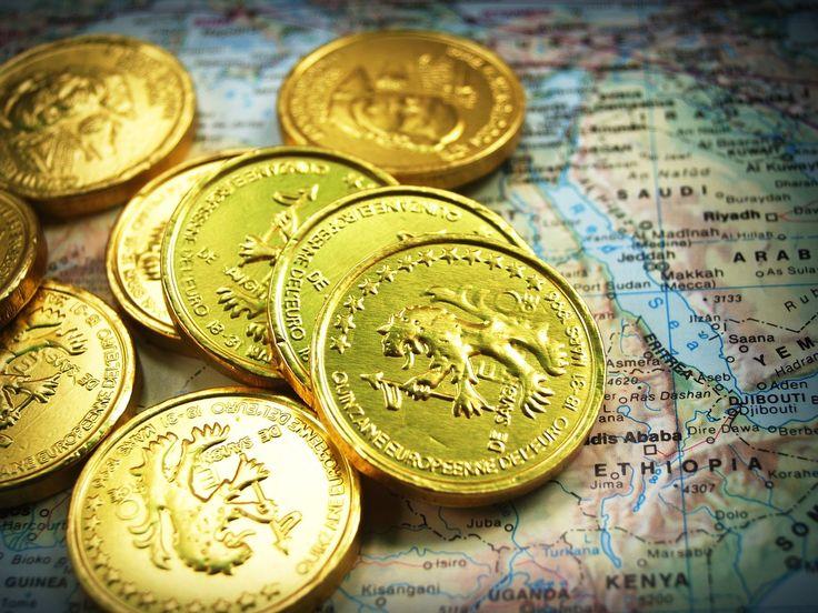 Coleccionar monedas de oro