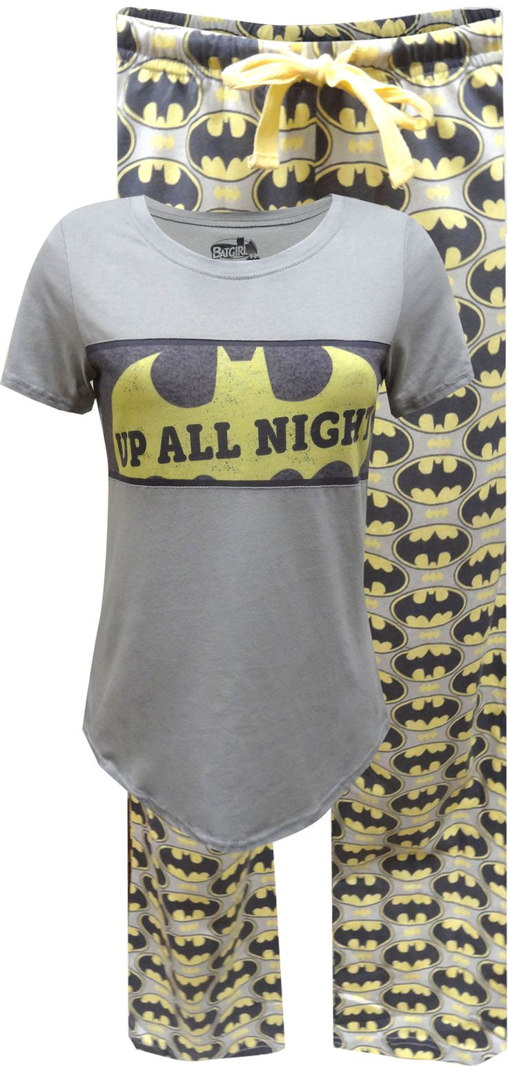 Classic styling! These awesome cotton pajamas for plus size ladies feature DC Comics Bat logo, used for both Batman and Batgirl on a… Clothing, Shoes & Jewelry - Women - Clothing - Lingerie, Sleep & Lounge - Lingerie - Lingerie, Sleepwear & Loungewear - http://amzn.to/2lSL4Y7