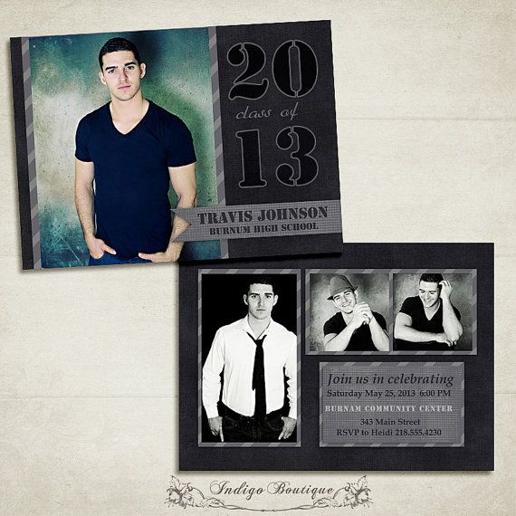 Hey, I found this really awesome Etsy listing at https://www.etsy.com/listing/126508084/senior-graduation-announcement-template
