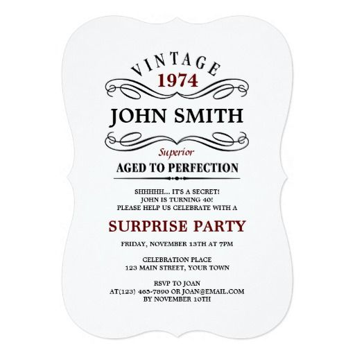 446 best funny birthday party invitations images on pinterest vintage aged to perfection funny birthday invite stopboris Images