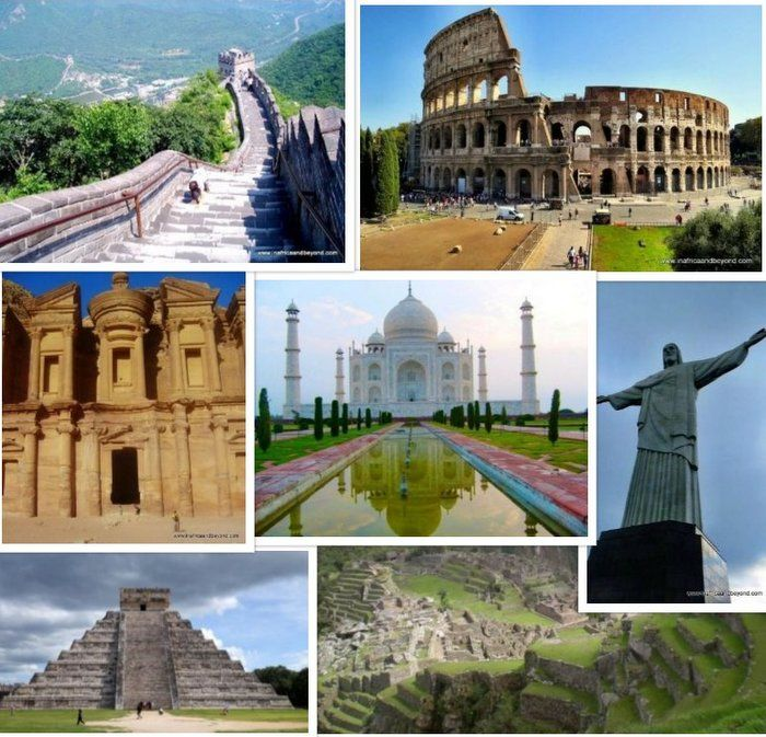 The New Seven Wonders Of The World My Experiences Wonders Of The World New Seven Wonders World Seven Wonders