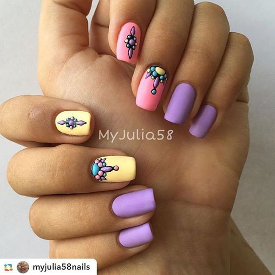 @myjulia58nails:#Sweetbloom на материалах #lianail @lianailru Матовый топ…