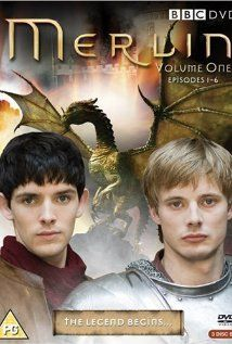 Merlin...I loved this series!  Took me a few episodes to get into it.  The season finale had me in tears.  If you like knights, dragons, witches and magic, this is a highly recommended watch.