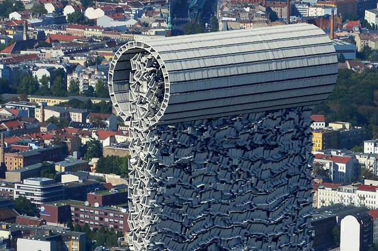 erdal inci stacks the berlin wall s 45 000 concrete on berlin wall id=64750