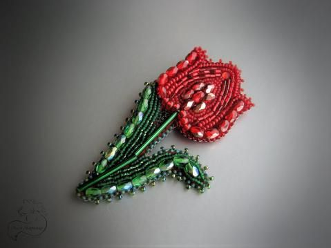 "Брошь ""tulip"""