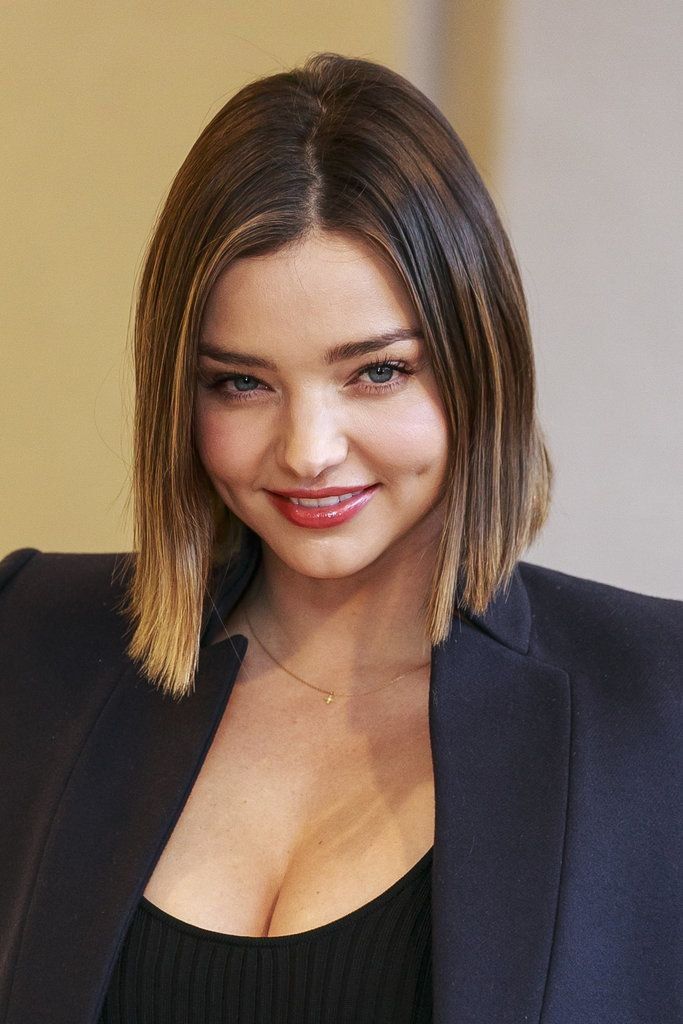 See Miranda Kerr's Fresh Bob From Every Angle Styling makes such a difference!