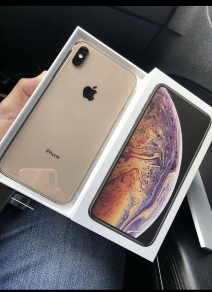 Apple iPhone XS Max - 64GB - Gold (Unlocked) A1921 (CDMA GSM