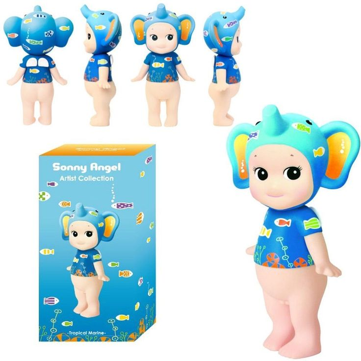 Sonny Angel Elephant  Artist Collection  Tropical Marine 2015