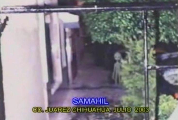Juarez  chihuahua (Mexique) juillet 2003   Photo présentée lors de la conférence 2005 de Jaime Maussan.
