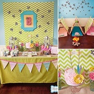 girly camping idea