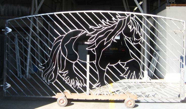 Metaladore Stainless Steel Horse Gate