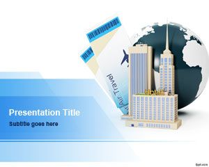 exceptional business trip powerpoint template is an awesome slide design for business presentations that you can