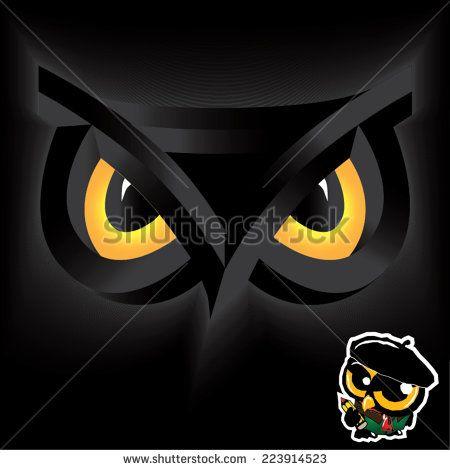Fine art owl design