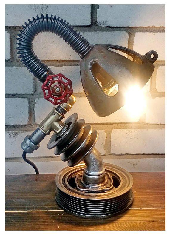 Table lamp Desk lamp vintage Desk lamp industrial