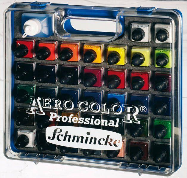 Schmincke Aerocolor 37+1 colors Assortment Set
